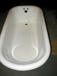 Vonios restauravimas - darbo pavyzdžiai