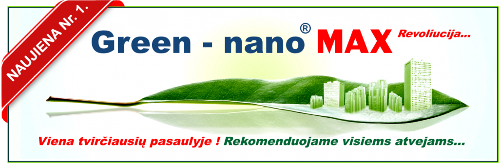 Vonių restauravimas - Green nano MAX technologija